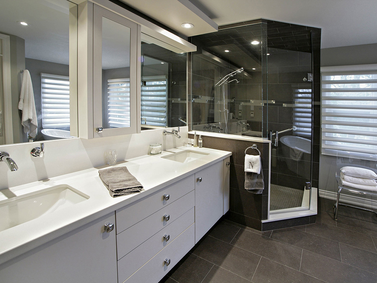 Custom Bathroom Vanities Oakville bathrooms gallery - misani custom design