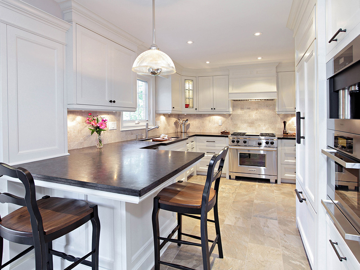 misani custom design kitchens bathrooms built ins oakville ontario canada - Custom Design Kitchens