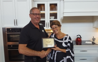 Misani wins best booth at Oakville Home Show